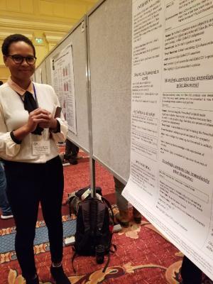 Graduate student Kendra Calhoun at LSA