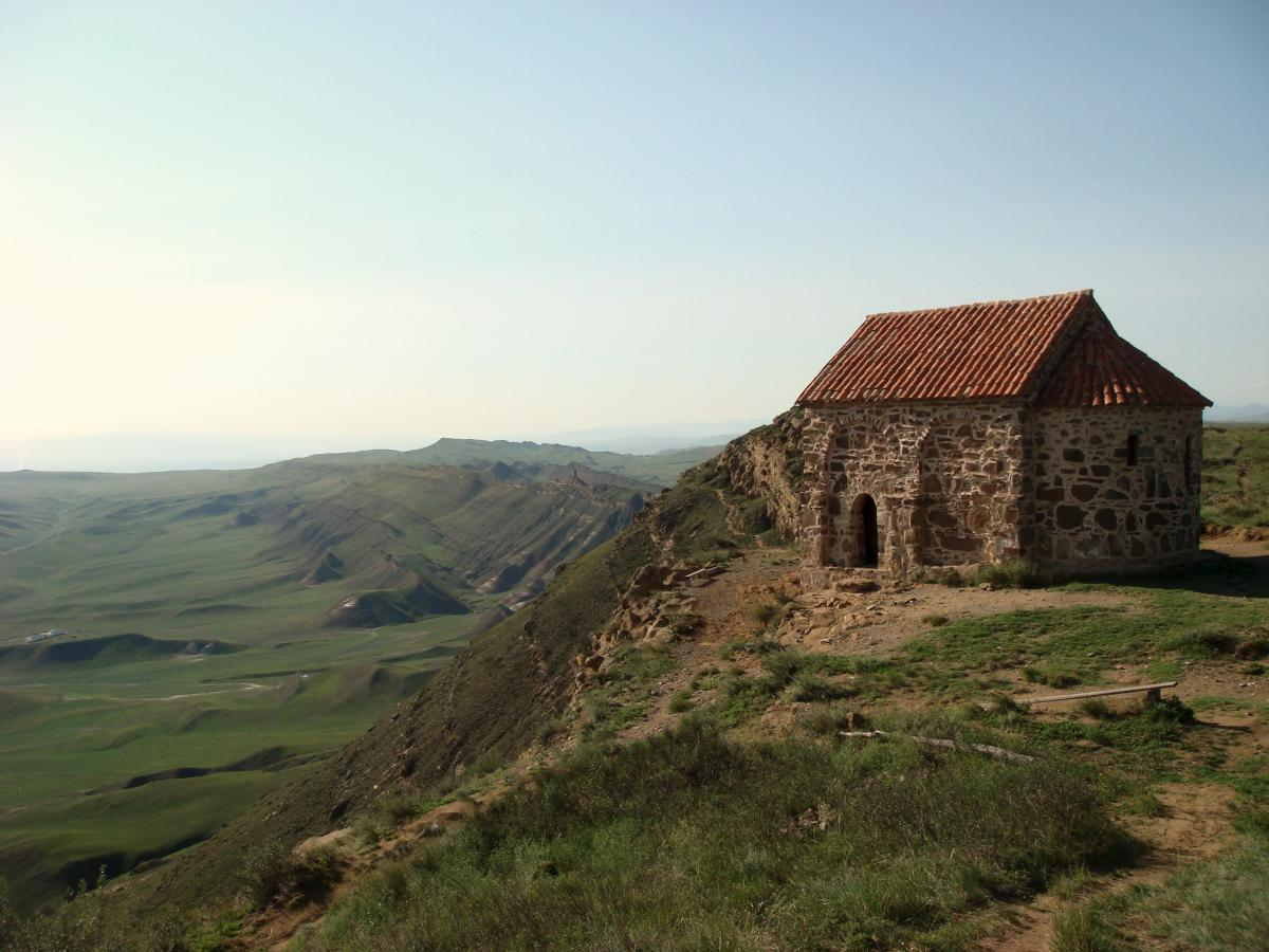 An old building in the Caucasus.