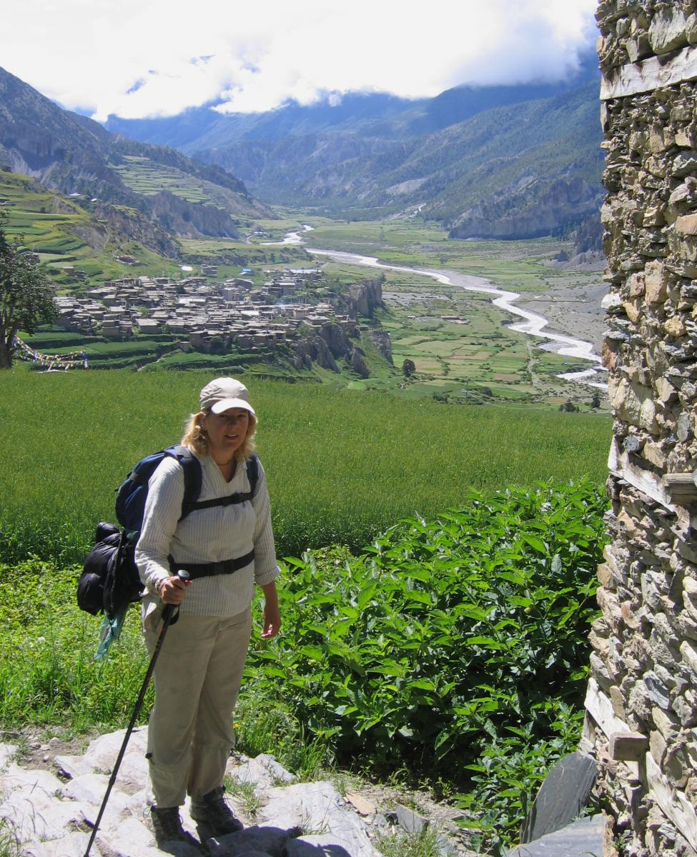 Manang valley.